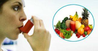Astma ir dieta