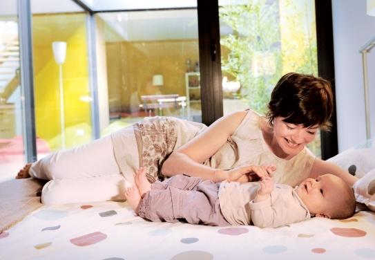 Miegojimas su vaiku