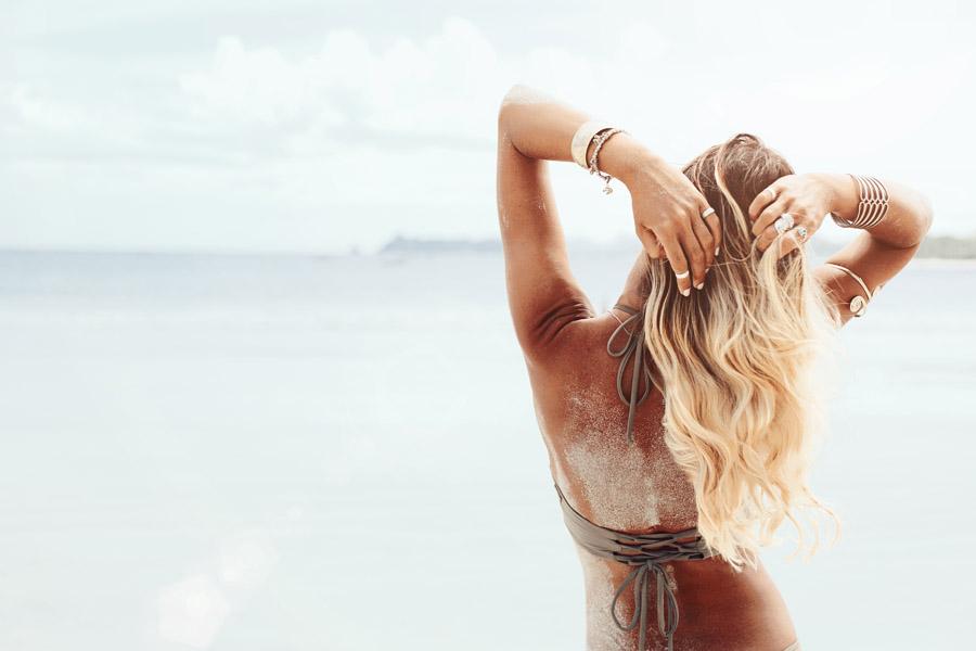 Plaukų priežiūra vasarą