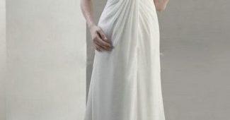 Vestuvinė suknelė nėščiai